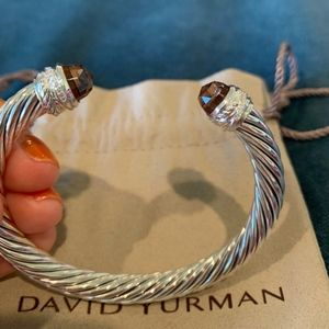 David Yurman Bracelet Morganite & Diamonds 7mm
